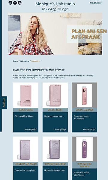 producten overzicht