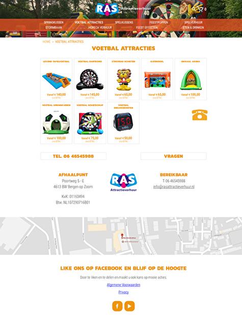 webwinkel categorie pagina