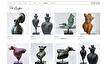 online etalage voor kunst